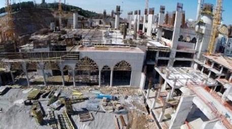 Çamlıca Camisi'nin yüzde 75'i tamamlandı!