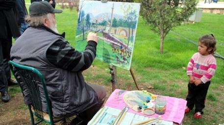 Çoban ressam Süleyman Şahin