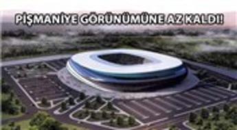 Kocaeli Stadyumu inşaatında son durum!