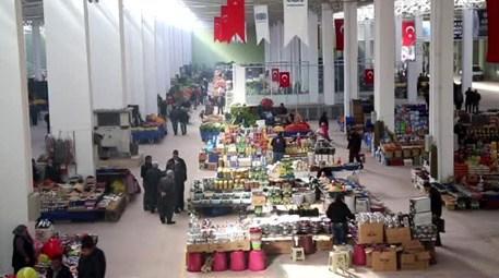 Nevşehir kapalı pazar