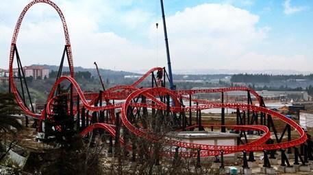 Türkiye'nin en hızlı roller coaster'ı hazır!