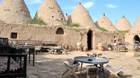 Kubbe evleri ile dikkat çeken Harran'da hedef 2 milyon turist!