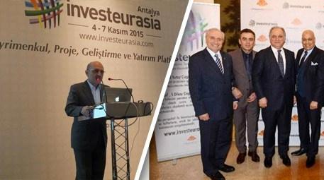 Investeurasıa 2015'de gayrimenkulün oyuncuları bir araya geldi