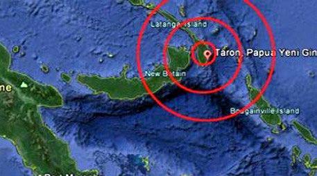 2 ülkede 2 büyük deprem!