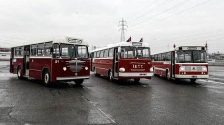 Nostaljik otobüsler, yarın sefere başlayacak