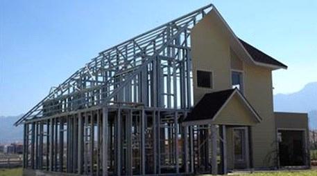 Taşınabilir çelik evler hem yazlık hem kışlık oluyor!