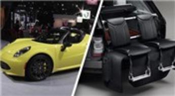 New York Otomobil Fuarı'nda otomobiller görücüye çıktı!