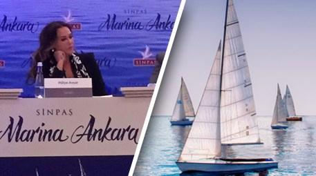 Marina Ankara'ya Hülya Avşar'lı tanıtım!