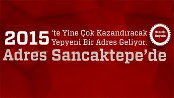 Adres Sancaktepe'de satışlar bugün başladı!