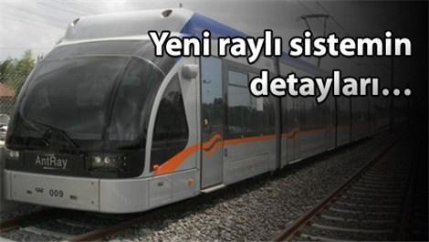 Antalya 2´nci etap raylı sistem hattı
