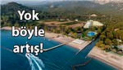 Su sporları alanının kira fiyatı 5 ayda uçtu!