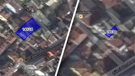 Beyoğlu'ndaki apartman 14.7 milyon liraya satışta!