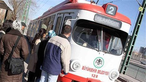 Konya'daki  raylı sistemleri de bakanlık yapacak