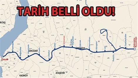Üsküdar-Çekmeköy metrosu ne zaman bitecek?