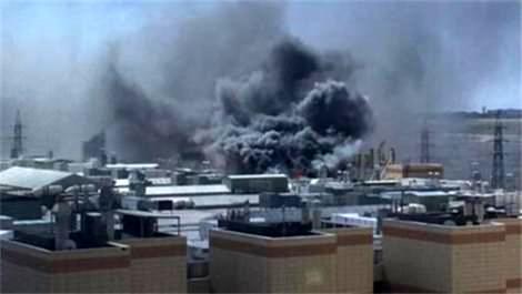 Kuyumcukent'in çatısında yangın çıktı!