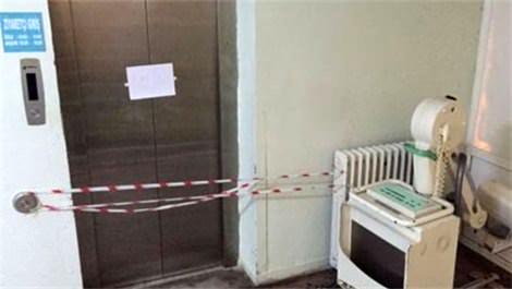 Adana'daki hastanede asansör faciası!