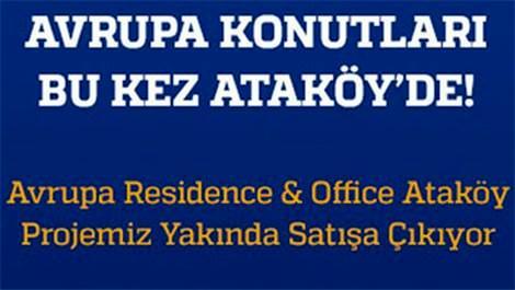 Avrupa Konutları Ataköy'de ön talep süreci başladı!
