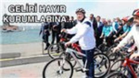 Erdoğan'ın bisikleti açık artırma ile satılacak!