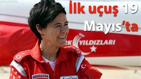 türk yıldızlarının ilk kadın pilotu
