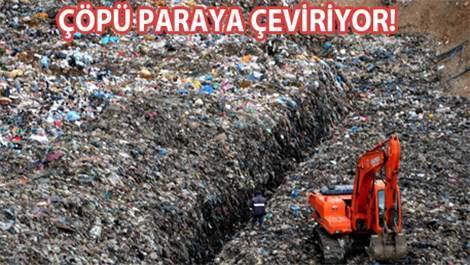 Eyüp'te çöpten daha fazla gaz üretmeyi hedefliyor!