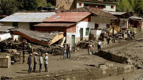 Kolombiya toprak kayması