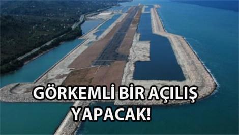 Ordu-Giresun Havalimanı ne zaman açılıyor?