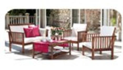 Tekzen'in bahçe mobilyaları geri dönüşümlü malzemeden…