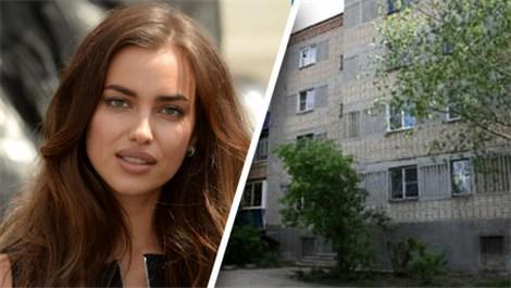 Irina Shayk ünlü olmadan önce bu evde yaşıyordu
