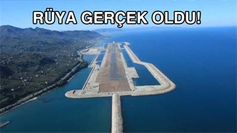 Ordu-Giresun Havalimanı yarın açılıyor!