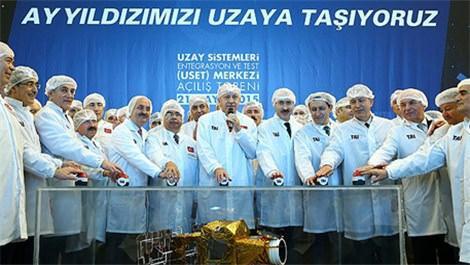 Cumhurbaşkanı Erdoğan, ilk uydu merkezini açtı!