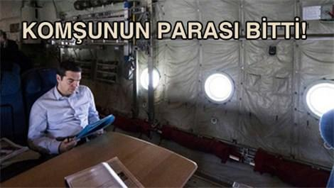 Yunanistan'ın Başbakanı kargo uçağıyla seyahat ediyor!