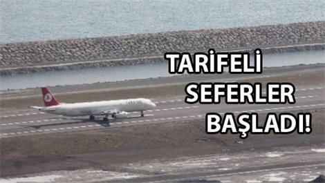 Ordu-Giresun Havalimanı'nda ilk uçak göründü!