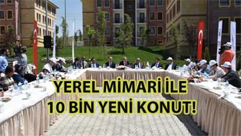TOKİ'den Ürgüp'e 923 sosyal konut müjdesi!