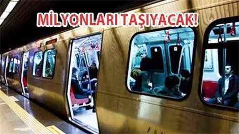 Kabataş-Mecidiyeköy-Mahmutbey için 300 metro!