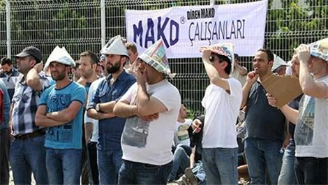mako bursa işçi eylemi
