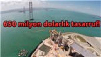 İzmit-Körfez Geçiş Köprüsü havadan görüntülendi!