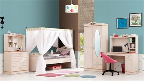 İder Mobilya'dan küçük hanımları sevindirecek odalar…