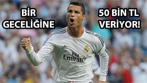 Ronaldo'nun gizli sığınağı
