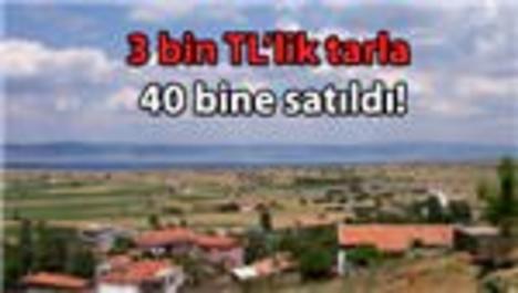 Gelibolu-Lapseki bölgesinde arazi fiyatları uçtu!