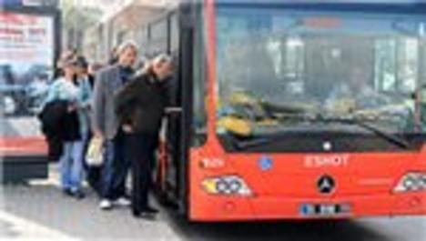 İzmir'de şehir içi ulaşım durdu!