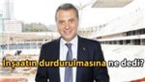 Fikret Orman, Vodafone Arena planını açıkladı!