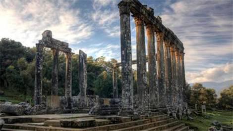 Euromos Antik Kenti için kazı evi yapılacak