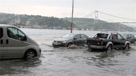 Üsküdar'da deniz ve kara birleşti!