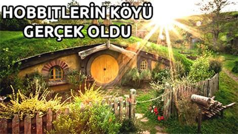 hobbit,eko tatil köyü, çevre, ingiltere,yüzüklerin efendisi,hobbiton