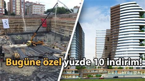 Pırlanta Göztepe'nin temeli atıldı!