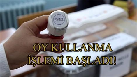Türkiye 'seçim'ini yapıyor!