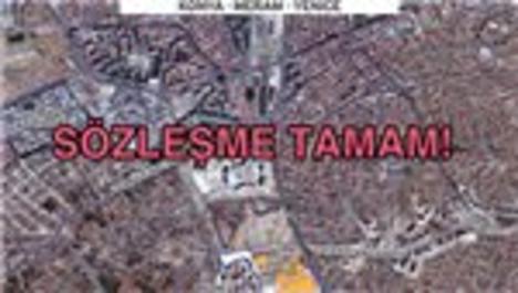 Konya Meram Yenice arsası için imzalar atıldı!