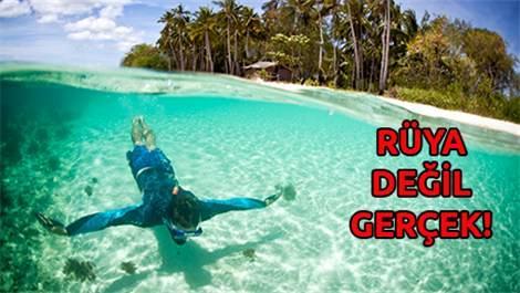 İşte dünyanın en berrak ve temiz suları