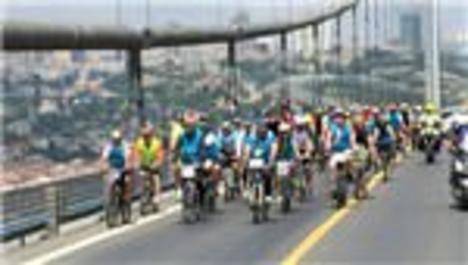 Boğaziçi Köprüsü'nden bisikletler geçecek!