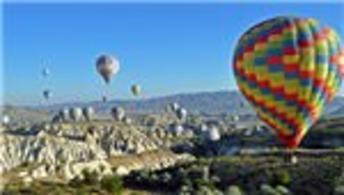 """Kapadokya'nın balonlarına """"hava"""" engeli"""